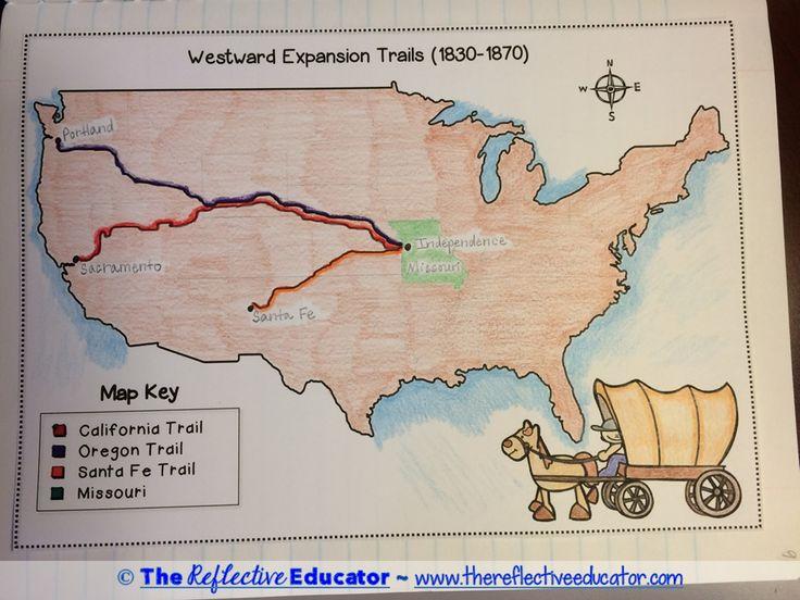 Westward Expansion Trails   www.pixshark.com - Images ...