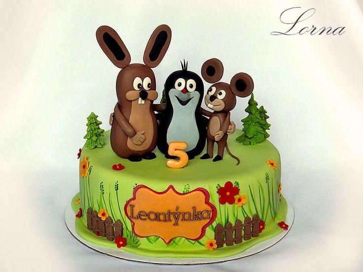Little Mole & Friends.. - Cake by Lorna