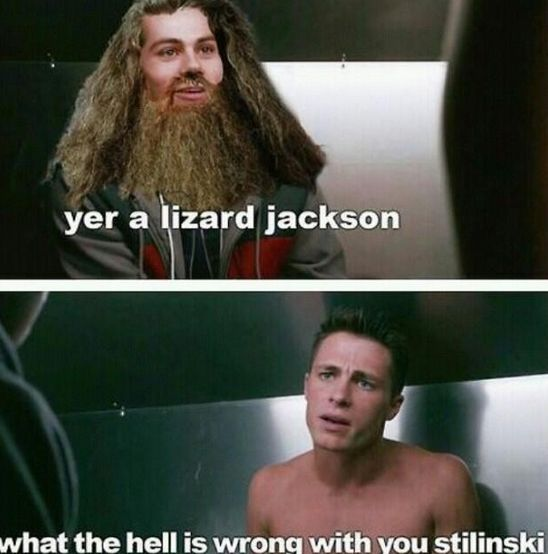 yer a lizard jackson This isn't sterek but it's really funny