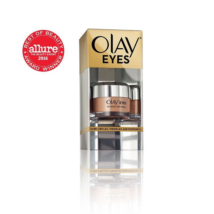 Olay Eyes Ultimate Eye Perfecting Cream fights dark circles, wrinkles and puffy eyes.The powerful formula hydrates to smooth and brighten the eye area. #whattousefordarkcirclesundereyes