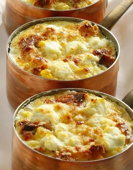 savory bread pudding recipe from Ame restaurant