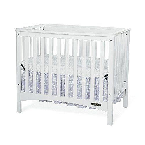 Childcraft London 2-In-1 Mini Convertible Crib - Matte White