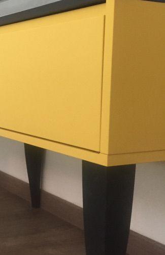 meuble laque mate jaune montpellier