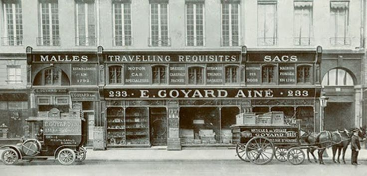 Goyard is the Only Major Luxury Brand that does not provide Online Transaction: Goyard wants to protect his reputation and authenticity, for that they refuse to have an online store. If you want to acquire one Goyard's product, you need to go to one of the 23 stores. #Goyard #History #RareByOulton