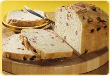 Recept voor Salami-bieslookbrood in de broodbakmachine - Koopmans.com