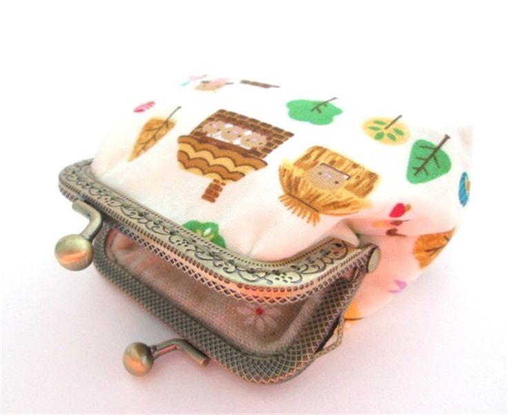 Drie kleine biggetjes geld beurs portemonnee | Made By Nixie Design