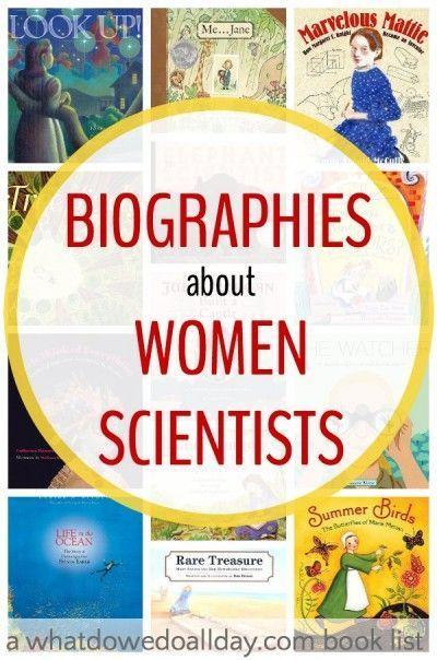 Biographies women scientists | picture books women scientists