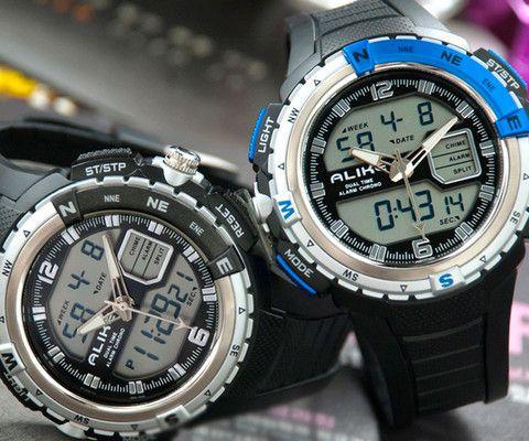 Men's Alike Waterproof Digital Watch