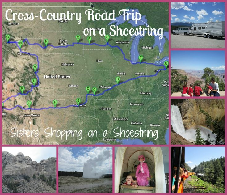 Road Trip: Travel On A Shoestring: Megan's Month-Long Cross-Country
