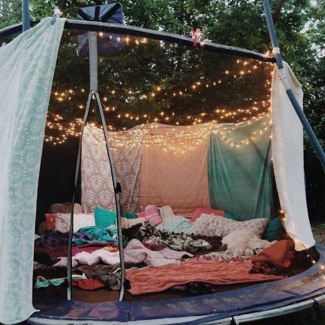 trampoline sleepover trampoline sleepover #vsco#tiktok