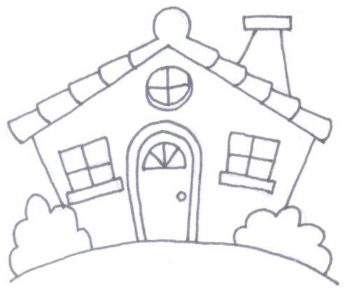 Ms de 25 ideas increbles sobre Dibujo de casa en Pinterest
