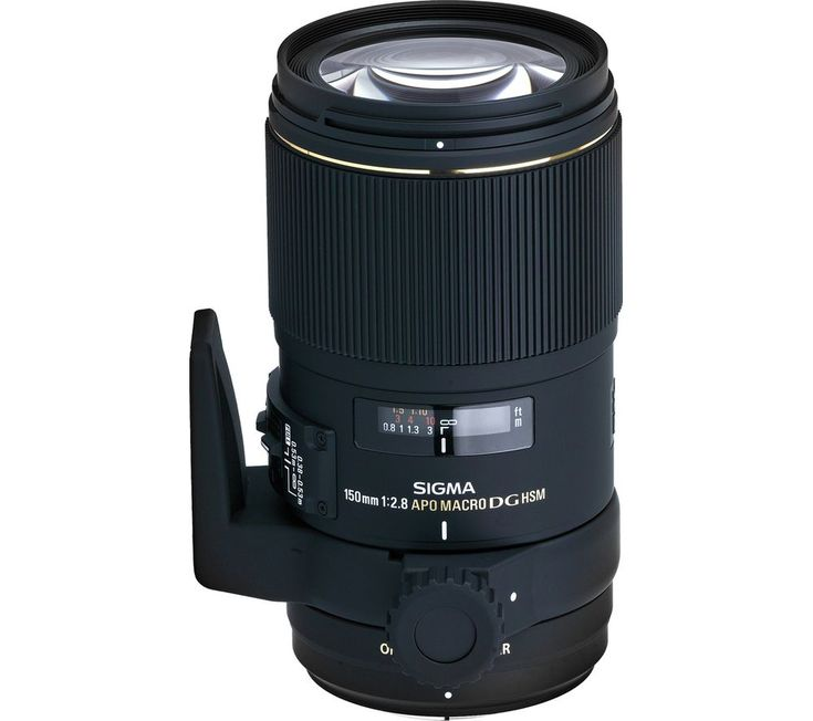 Buy SIGMA  150 mm f/2.8 APO EX DG HSM Macro Lens - for Nikon Price: £649.00 Top features: - Ideal for longer working distances when you need to focus in close - SLD (Special Low Dispersion) glass elements provide correction of various aberrations - OS (Optical Stabiliser) function offers the use of slower shutter speeds Ideal for longer working distancesOffering a longer working distance than...