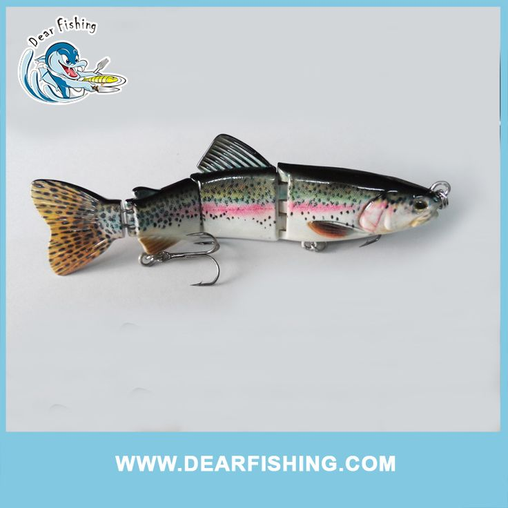 "6.5"" fast sinking trout swimbait with strong metal jointed"