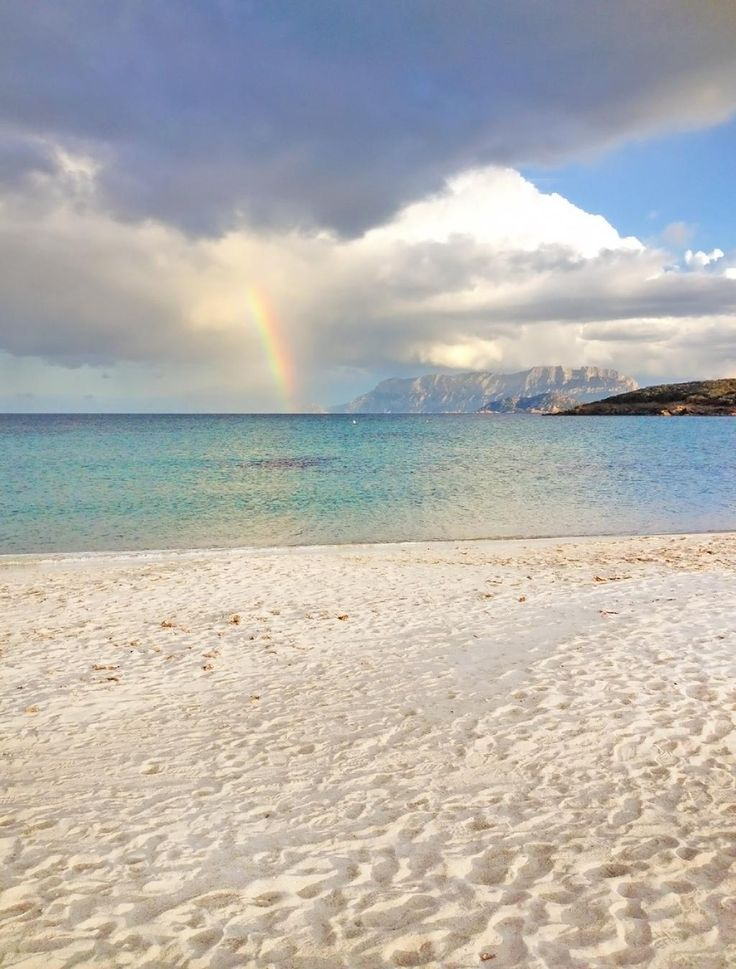 #Rainbow Pittulongu Beach (Olbia  Sardinia)