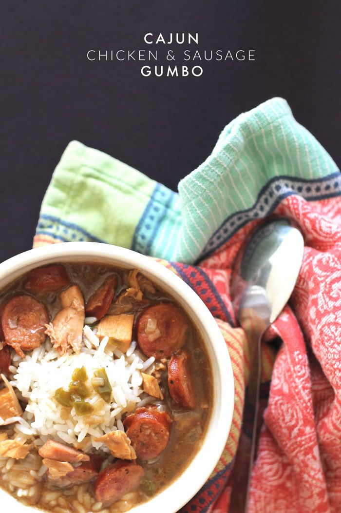 recipe: paul prudhomme chicken and sausage gumbo [38]