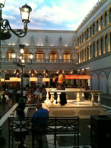 Piazza San Marco - indoors at the Venetian,  Las Vegas