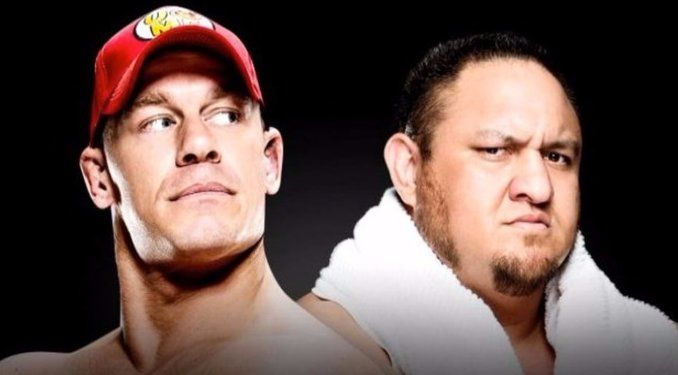 After Vince McMahon canceled John Cena vs. The Undertaker for WrestleMania 33, the next feud for Cena was rumored to be with Samoa Joe.