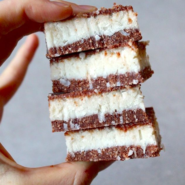 Creamy Vegan Bounty Slice