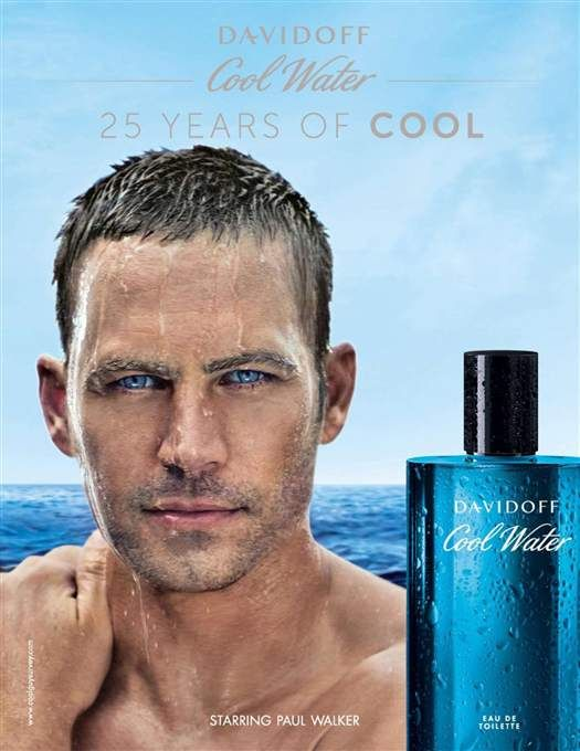 Paul Walker - Davidoff Cool Water (2013.12.) #PaulWalker #Davidoff