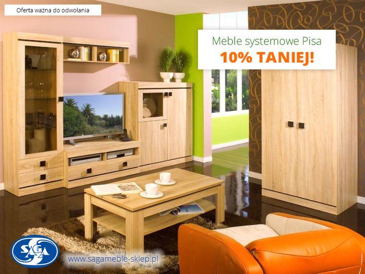 Kolejne meble systemowe w promocji! Kolekcja Pisa 10% taniej :)  http://sagameble-sklep.pl/449-pisa