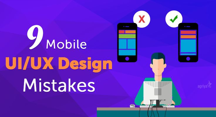 9 Crucial #Mobile UI/UX #Design Mistakes to Avoid at Any Cost3