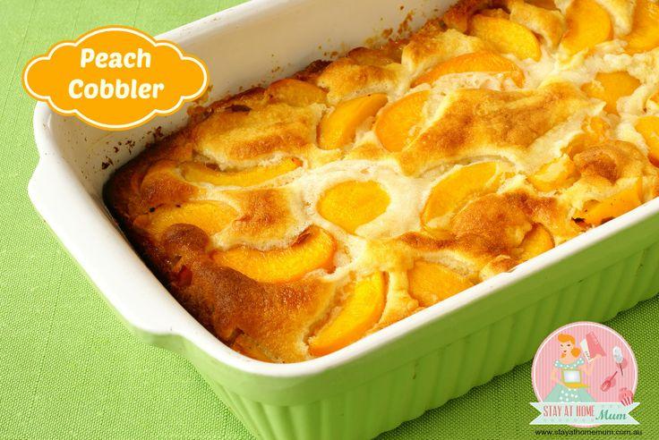 Peach Cobbler | Stay at Home Mum