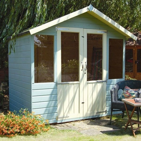7 x 5 Waltons Bournemouth Wooden Summer Houses