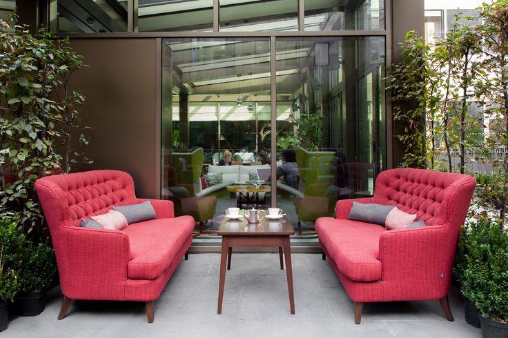 Bolgheri Masseto Bespoke Outdoor Love Seat