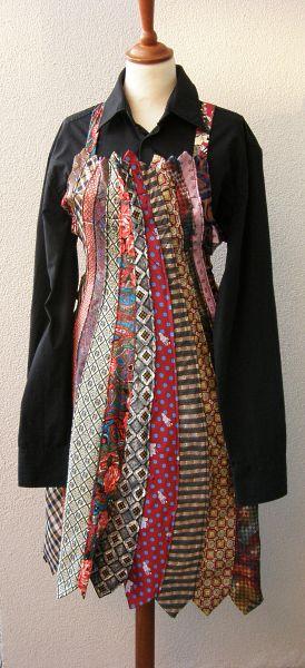 Tie coctail dress