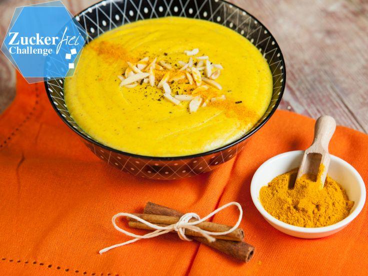 Dieses Rezept für Golden Pudding mit Kurkuma stillt nicht nur euer inneres Naschkätzchen, sondern ist auch noch gesund. Hier zeigen wir euch wie man den Kurkuma Pudding zubereitet.