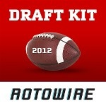 'RotoWire Fantasy Football Draft Kit 2012' Is Now a TOP 10 PAID #iPhone #SPORTS #APP!  -------------------------------------------------  Imagine you could get access to a cheat sheet that automatically adjusts to fit your league settings AND helps you quickly and easily manage your draft on the fly. That's exactly what the 2012 RotoWire #Fantasy #Football #Draft #Kit can do for you. It's a one-stop shop for everything you need to dominate during your draft.