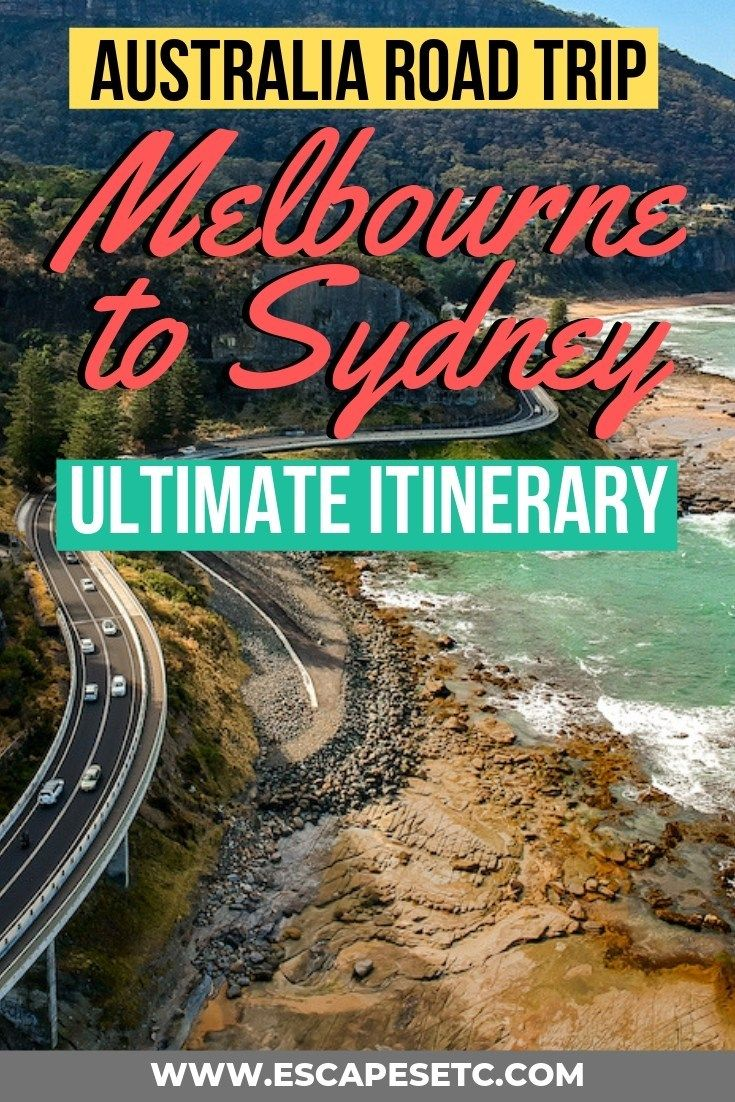 Australian Road Trip Itinerary 10 Of The Best Things To See Between Melbourne And Sydney Escapes Etc Australian Road Trip Road Trip Itinerary Australia Travel Guide