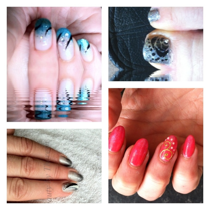 25 best Contrast Nail Ideas images on Pinterest | Nail ...