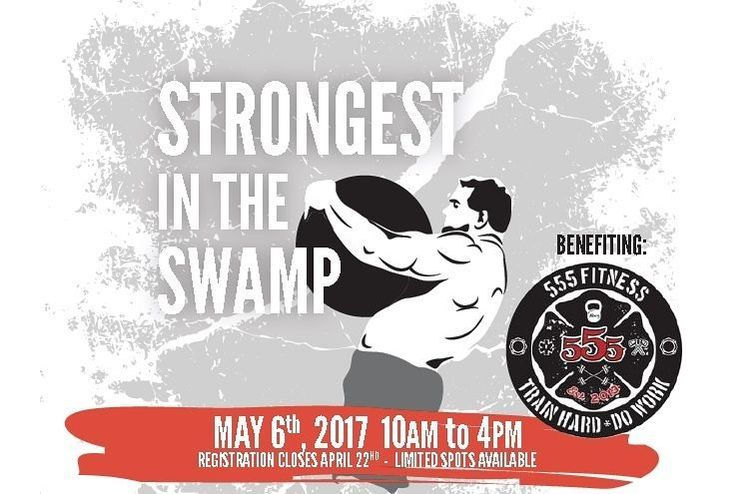 If you're in the Ohio area please join the @blackswampcf crew on May 6th for a Strongman qualifier that benefits 555 Fitness. #strongman #deadlift #atlasstone #stone #fire #ems #firstresponder #police #military #competition
