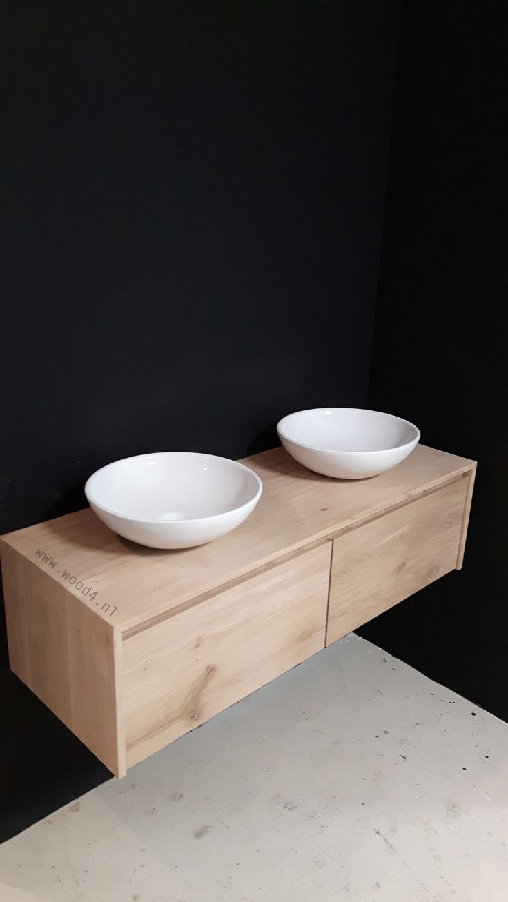 35 best images about badkamermeubels van wood4 lavello on pinterest models studios and toilets - Badkamer beton wax ...