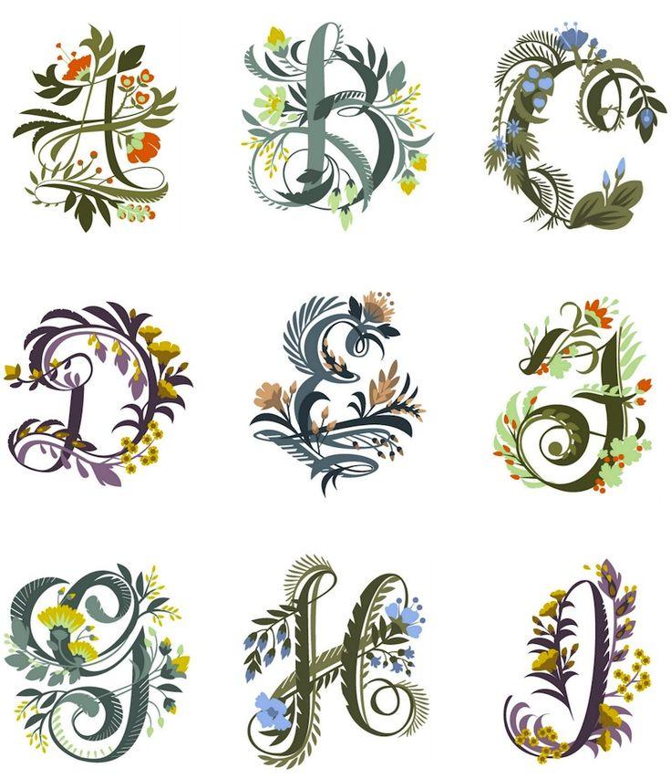alphabet celtique/bretonnant