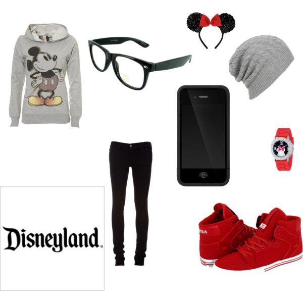 DisneyLand outfit, created by caylee-lovely on Polyvore
