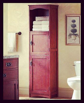 modern black bathroom linen side cabinet 3 open shelves home