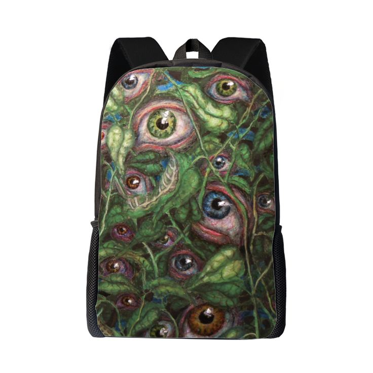 #Observation! A #backpack that follows you also with his #eyes!