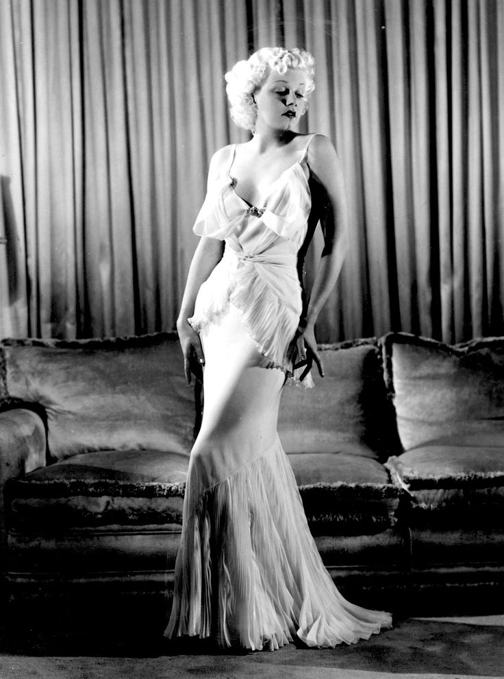 """lelaid: """"Jean Harlow by Russell Ball, 1935 """""""