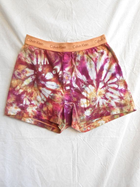 Calvin Klein Tie-Dyed Boxer Briefs by PorchOpossumArt on Etsy