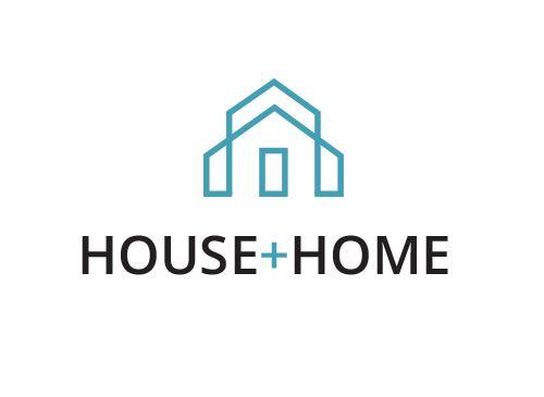 Logo, Haus, Immobilie, Architektur, Grafikpart