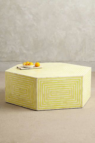 Anthropologie - Hexa Inlay Coffee Table
