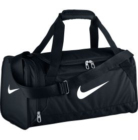 A gym bag in black like this. One with a nice, compact shape and side pockets. I can use it for travel too.