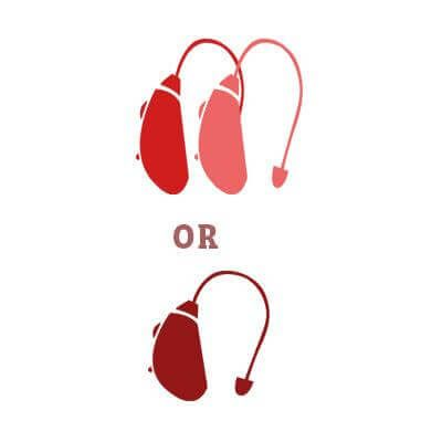 Confused between two hearing aids or one? Read www.experthearing.com.au/two-hearing-aids-one #HearingAids