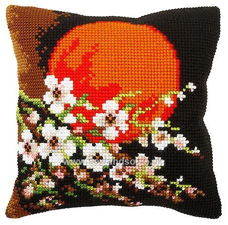 Sunrise Cushion Front Chunky Cross Stitch Kit