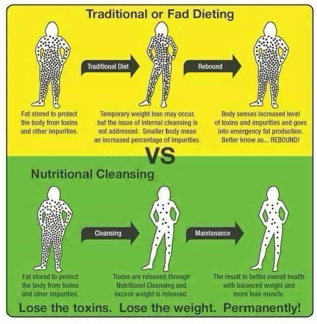 Traditional Or Fad Dieting Vs Nutritional Cleansing How