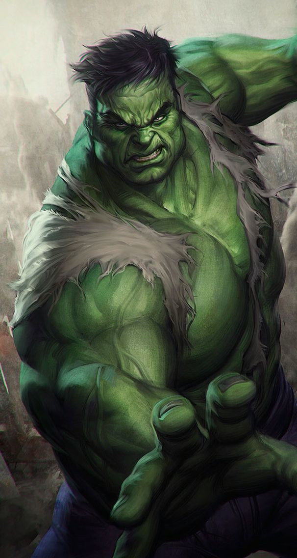 #art #wallpaper #background #phone #iphone #drawing #painting #marvel #hulk