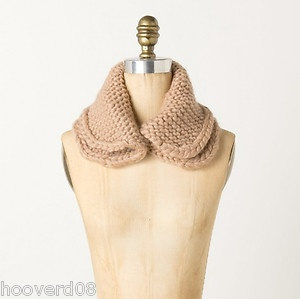 chunky knit collar scarf adrienes wishlist Pinterest Scarfs, Colla...