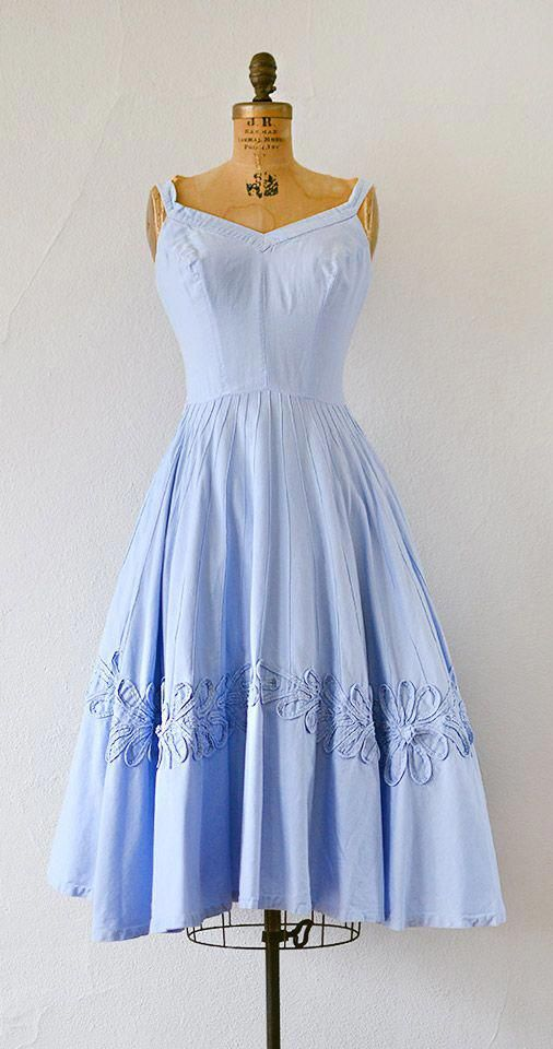 vintage 1950s SUMMERSTITCH dress from Adored Vintage #1950s #50svintage #vintage…